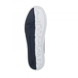 Мъжки сникърс TOMMY HILFIGER - FM0FM03397DW5 corporate leather sneaker Desert Sky