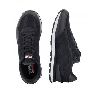 Мъжки сникърс TOMMY JEANS - EM0EM00668BDS tommy jeans lifestyle mix runner Black