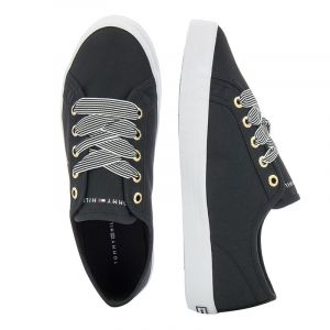 Дамски гуменки TOMMY HILFIGER - FW0FW04848BDS essential nautical sneaker Black